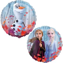 Folie ballon Frozen Anna/Elsa/Olaf (leeg)