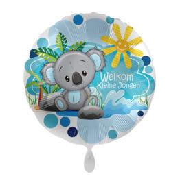 Folie Ballon Welkom Kleine Jongen (leeg)