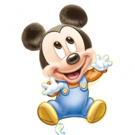Folie ballon Mickey Mouse Baby (leeg)