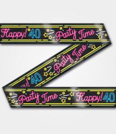 Afzetlint Neon Party 40