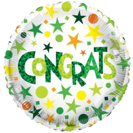 Folie Ballon - Congrats (leeg)