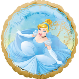Folie Ballon  Prinses Assepoester (leeg)
