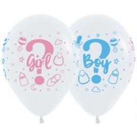 Latex Ballonnen Gender Boy Or Girl