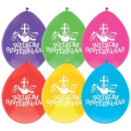 Latex Ballonnen Welkom Sinterklaas
