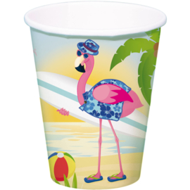 Flamingo Bekers