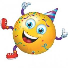 Folie Ballon Smiley Party Guy (leeg)