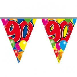90 jaar ballon Vlaggenlijn