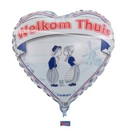 Folie Ballon Welkom Thuis Nederland (leeg)