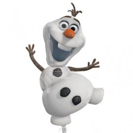 Folie ballon Frozen Olaf (leeg)