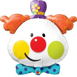 Folie Ballon Clown (leeg)