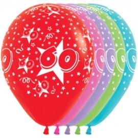 Latex Ballonnen Cijfer 60