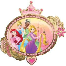 Folie ballon Prinses Once Upon A Time (leeg)