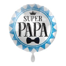 Folie Ballon Super Papa (leeg)