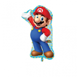 Folie ballon Super Mario (leeg)