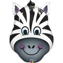 Folie Ballon Zany Zebra (leeg)