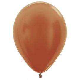 Latex Ballonnen Koper Metallic