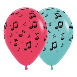 Latex Ballonnen All over Music