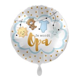 Folie Ballon Je wordt Opa (leeg)