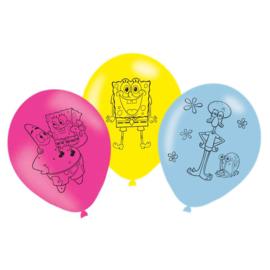Latex Ballonnen Spongebob