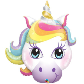 Folie ballon Unicorn / Eenhoorn Magical (leeg)