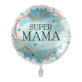 Folie Ballon Super mama (leeg)