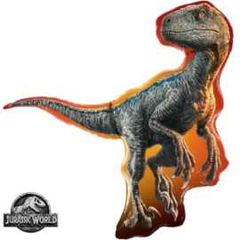 Folie ballon Jurassic World Raptor - Dino (leeg)