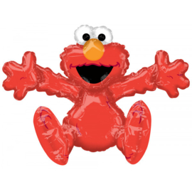 Folie Ballon Sitting Elmo (leeg)