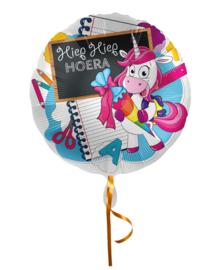 Folie Ballon Hiep Hiep Hoera (leeg)