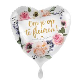 Folie Ballon Om je op te fleuren (leeg)