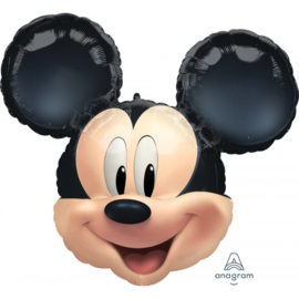 Folie ballon Mickey Mouse Hoofd (leeg)