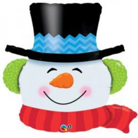 Folie Ballon Sneeuwpop (leeg)