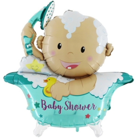 Folie ballon Baby Shower (leeg)