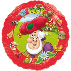 Folie ballon Kabouter Plop (leeg)