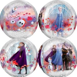 Folie ballon Frozen 2 Orbz (leeg)