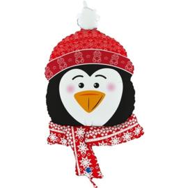 Folie Ballon Kerst Pinguin (leeg)