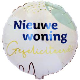 Folie ballon Nieuwe Woning (leeg)