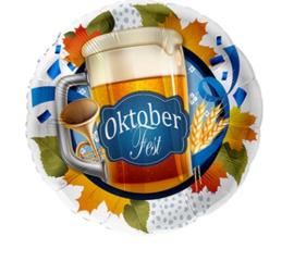 Folie ballon Oktoberfest (leeg)