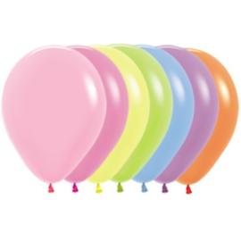 Latex Ballonnen Mix Neon