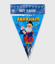Abraham Cartoon Vlaggenlijn