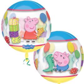 Folie ballon Peppa Pig Orbz (leeg)