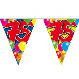 75 jaar ballon Vlaggenlijn
