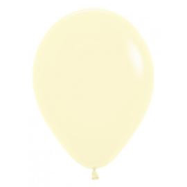 Latex Ballonnen Pastel Matte Yellow