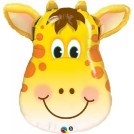Folie ballon Jolly Giraffe (leeg)