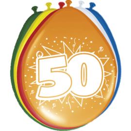 Latex Ballonnen 50 jaar