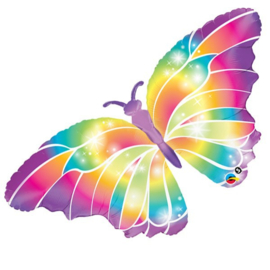 Folie Ballon Vlinder Luminous (leeg)