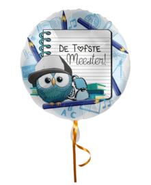 Folie Ballon De Tofste Meester (leeg)