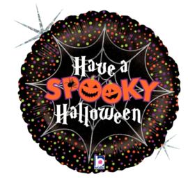Folie Ballon Have a Spooky Halloween (leeg)