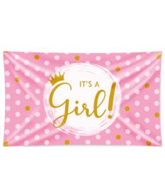 Gevel Vlag it's a Girl
