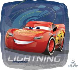 Folie Ballon Cars Lightning (leeg)