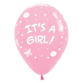 Latex Ballonnen It's a Girl